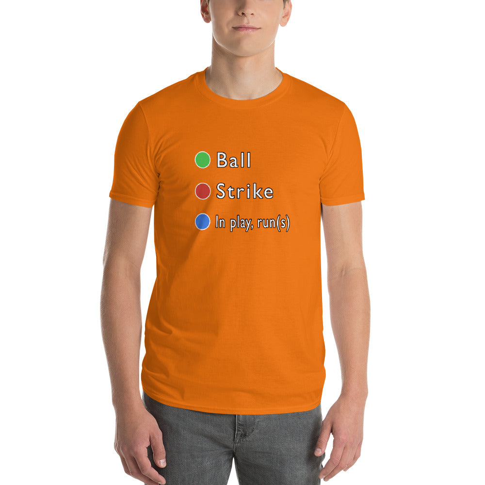 In Play(Runs) Unisex/Men's Short-Sleeve T-Shirt