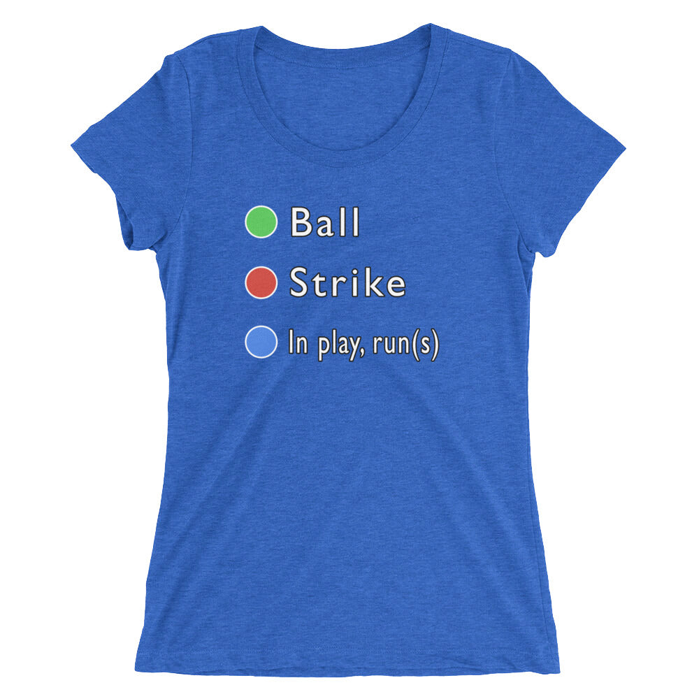 In Play(Runs) Women's Triblend Tshirt