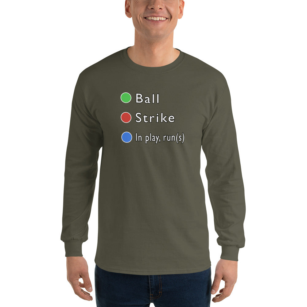 In Play(Runs) Long Sleeve T-Shirt