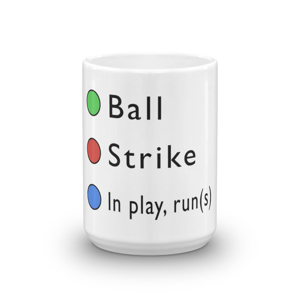 In Play(Runs) Mug