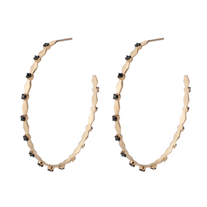 Large Harlequin Hoops - Gillian Steinhardt Jewelry