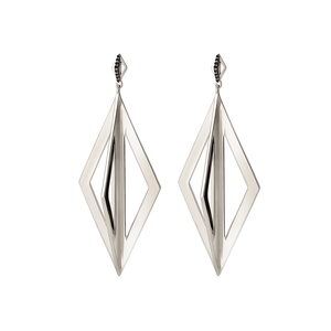 Pierrot Drop Earrings - Gillian Steinhardt Jewelry
