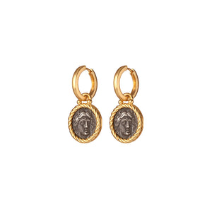Hadrian Hoop Earrings - Gillian Steinhardt Jewelry