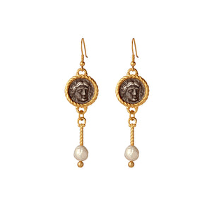 Hadrian Drop Earrings - Gillian Steinhardt Jewelry