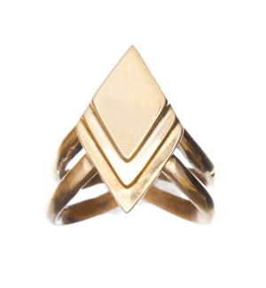 Labyrinth Ring - Gillian Steinhardt Jewelry