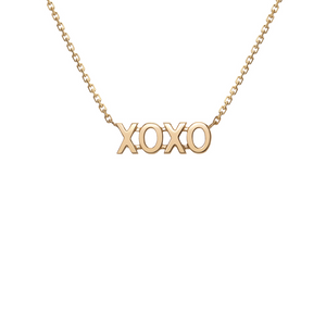XO Necklace - Gillian Steinhardt Jewelry