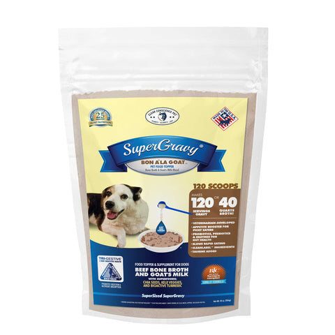 SuperGravy® Bon A' La Goat™ Dog Food Topper Gravy & Broth Mix
