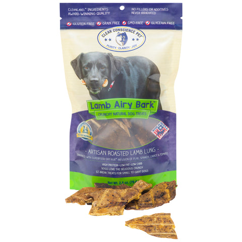 Lamb Airy Bark™ Dog Treats