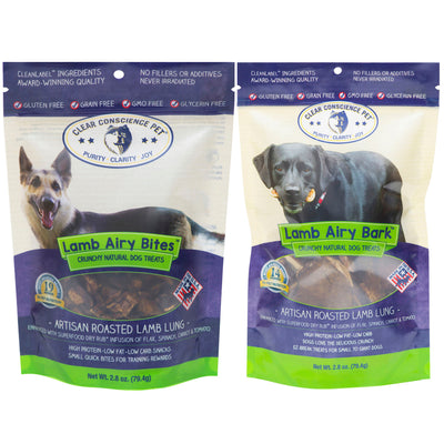 Barks & Bites 2 Airy Treat Bags Combo Deal