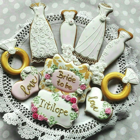 Bridal Shower Biscuits