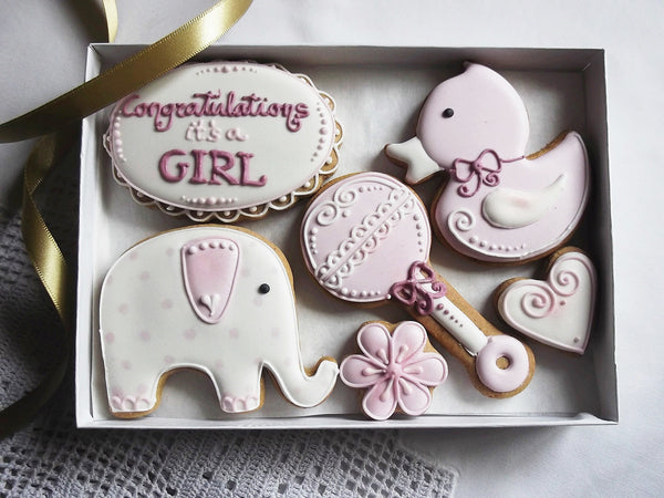 Congratulations Its a Girl! Cookie Gift Box