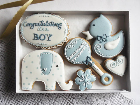 Congratulations Its a Boy! Cookie Gift Box