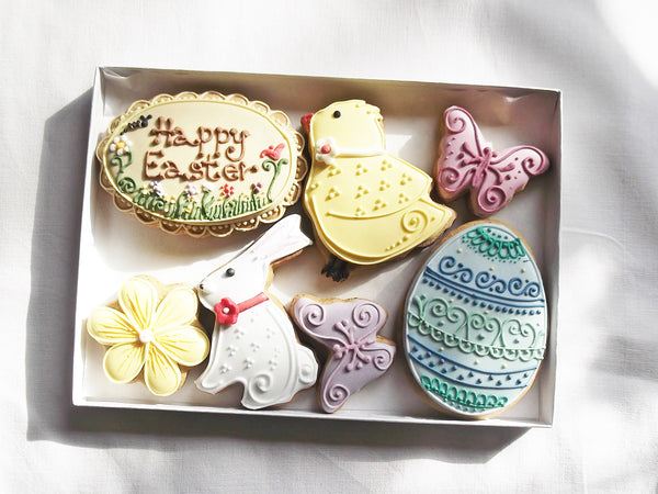 Easter Biscuit Gift Box - Can be personalised