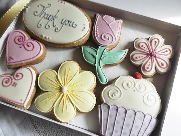 Thank You Cookie Gift Box - Can be Personalised