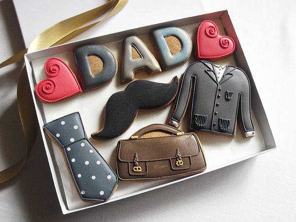 Love Dad Cookie Biscuit Gift Box