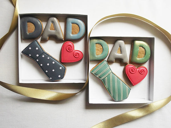 Small Love Dad  Biscuit Gift Box