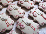 10 Stork Baby Shower Biscuits