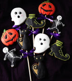 Classic Halloween Biscuits / 5 cookies