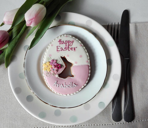 Personalised Giant Easter Egg Cookie
