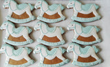 10 Rocking Horse Baby Shower Biscuits