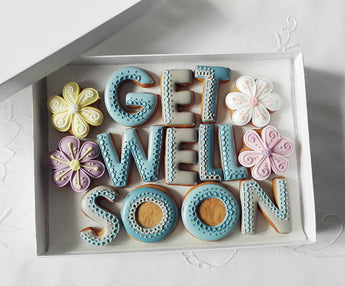 Get Well Soon Cookie Gift Box for Men