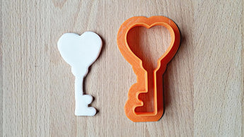 Key to your heart cookie cutter