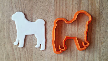 Shar Pei cookie cutter