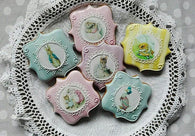 Beatrix Potter Character Cookies