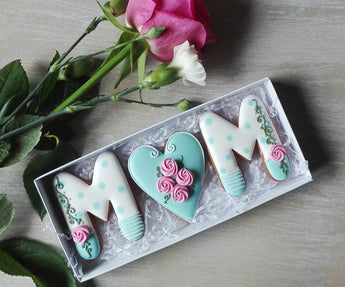 Mothers Day Cookie Gift box