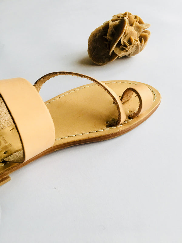 Leather Belt Classy Capri Sandals