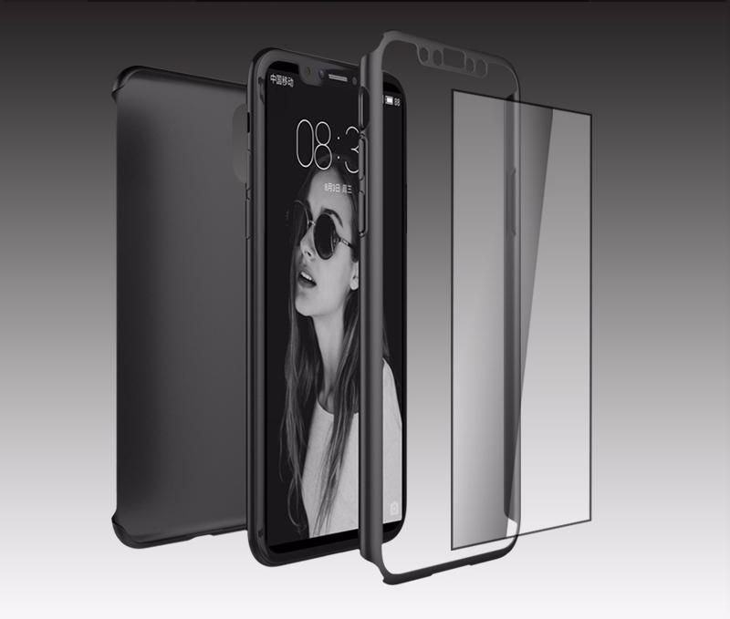 iPhone X Case with Glass