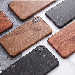Luxury Wooden Back Case Cover