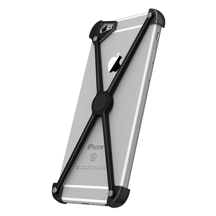 The unique iPhone Magnetic X case is a must in terms of protection and style.