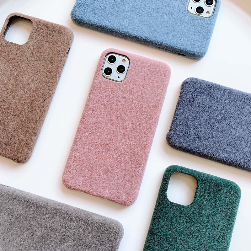 Velvet Feel iPhone case for iPhone 6, 6s, 7, 8, X, XS, XR Max, iPhone 11
