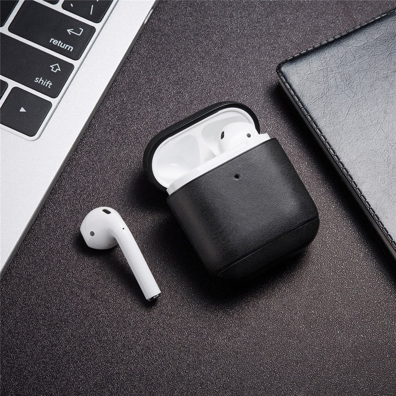 Luxury Leather Case For Apple Airpods 2