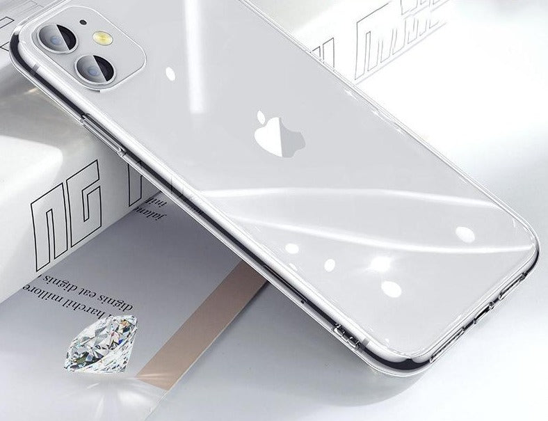 Luxury Transparent Tempered Glass Case For iPhone - From iPhone 6 to iPhone  11 Pro X XR Xs Max