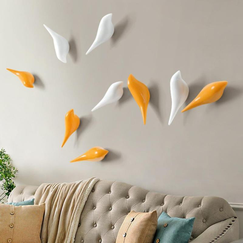 Wall Hooks - Coat Hangers - Birds Decoration