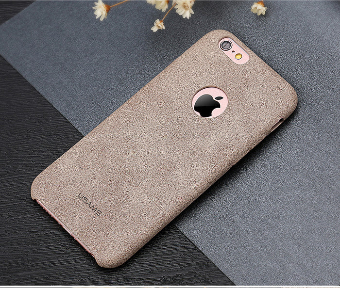 This iPhone 6, 6s case is very smooth and elegant, due to its high quality PU leather material.