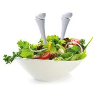 Leg Shaped Salad Serving Spoons