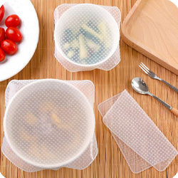 Reusable Silicone Cover for Bowls or Plates