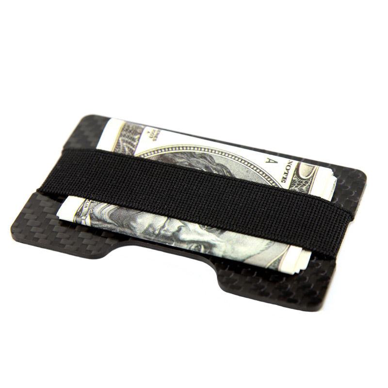 Very practical money band allows carrying your credit cards and money with safety.