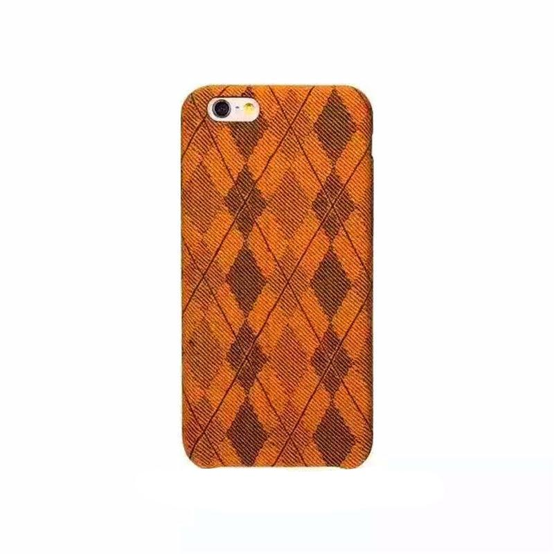 Diamond Pattern Thin Silicone Case for iPhone