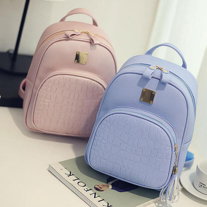 Comfortable and Elegant PU Leather Backpack will be the best company for women.