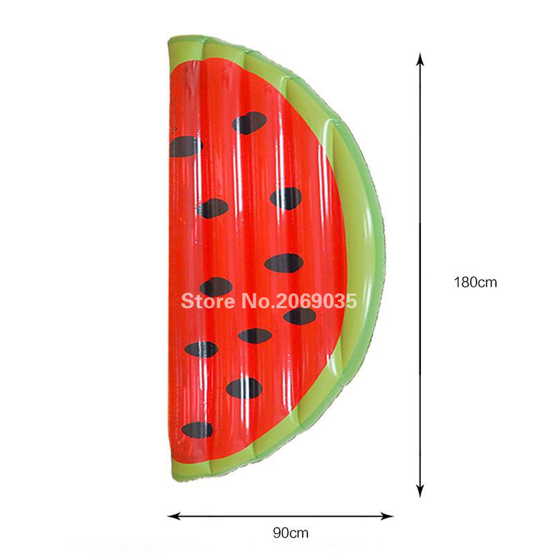 Giant Inflatable Watermelon Slice Water Bed