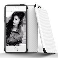 Carbon Fiber Design Soft iPhone Case