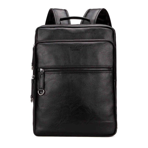 Cool Leather Laptop Backpack