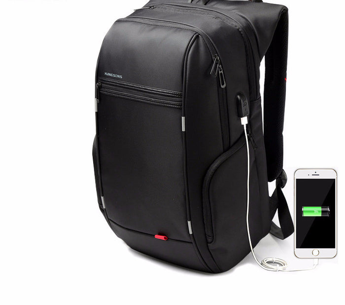 Laptop Backpack With External USB Charge
