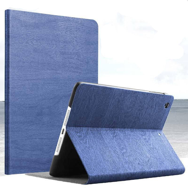 Woodgrain Pattern PU Leather Case For iPad Mini 1 2 3 with Fold Stand