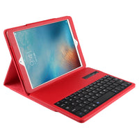 Red iPad Case with Wireless Keyboard