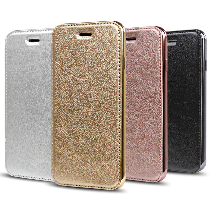 PU Leather Case for iPhone & Samsung